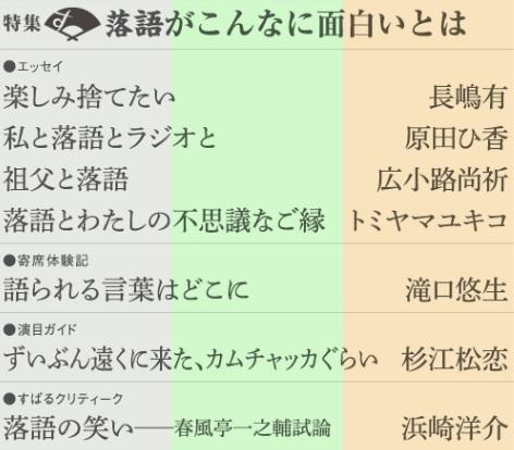 「すばる」の落語特集を読んで(3)_e0337777_17370065.jpg