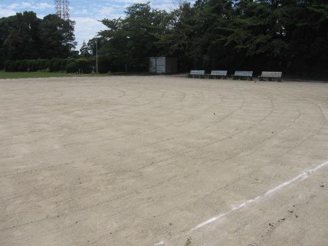 臨港緑地 野球場・運動広場の土補充について_d0338682_14450053.jpg