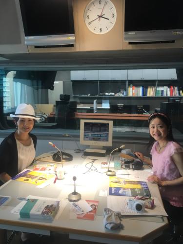 ラジオ関西で収録 : DIARY