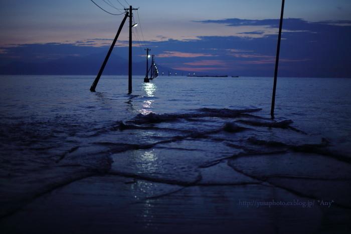 夕刻に寄せる波 -2-_e0347431_16035205.jpg