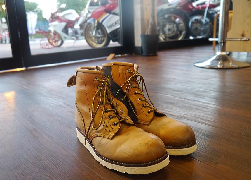 ブーツ ソール交換_f0178858_18574542.jpg