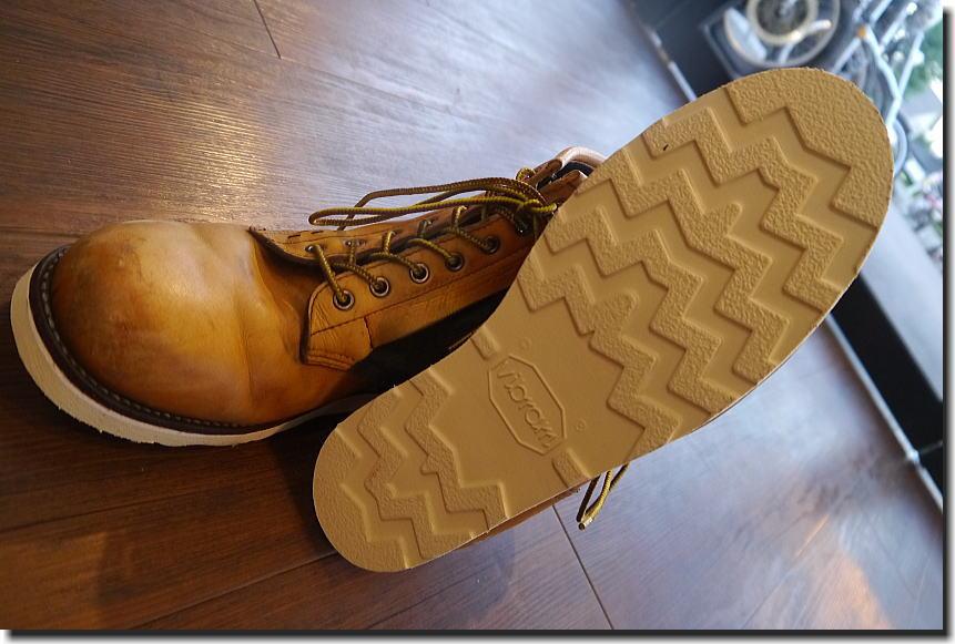 ブーツ ソール交換_f0178858_18575422.jpg
