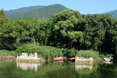 国境の島を訪ねて(6)お船江跡_c0013687_2226297.jpg