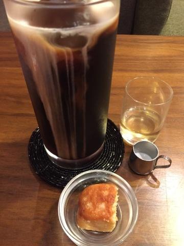 喫茶 1er ぷるみえ  (ツナとキノコのバターライス  自家製ポン酢をかけた大根おろしをのせて)_e0115904_03243100.jpg