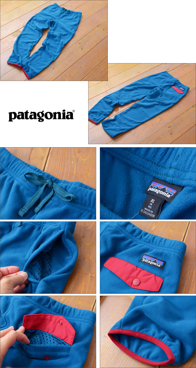 【再入荷】patagonia [パタゴニア正規代理店] BOY\'S MICRO D SNAP-T BOTTOMS [65775] LADY\'S_f0051306_16432156.jpg
