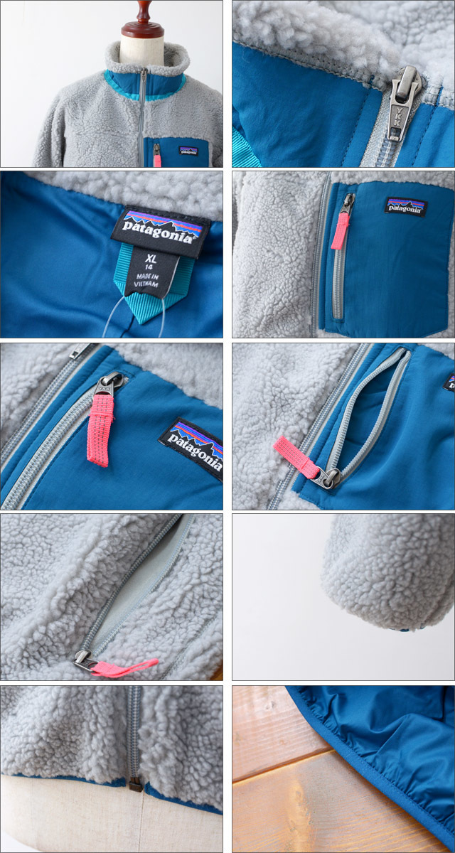 【再入荷】patagonia [パタゴニア正規代理店] GIRLS RETRO-X JACKET [65621] LADY\'S_f0051306_16553794.jpg