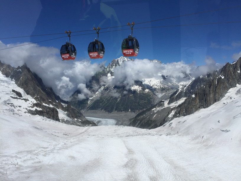 """2016年8月 『アルプスの女王、モンブラン』 August 2016 \""""Queen of the Alps, Mont Blanc\""""_c0219616_11404678.jpg"""