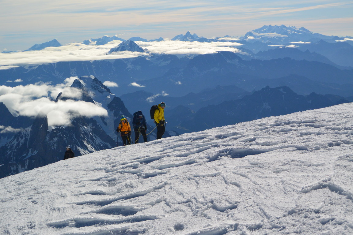 """2016年8月 『アルプスの女王、モンブラン』 August 2016 \""""Queen of the Alps, Mont Blanc\""""_c0219616_2310129.jpg"""