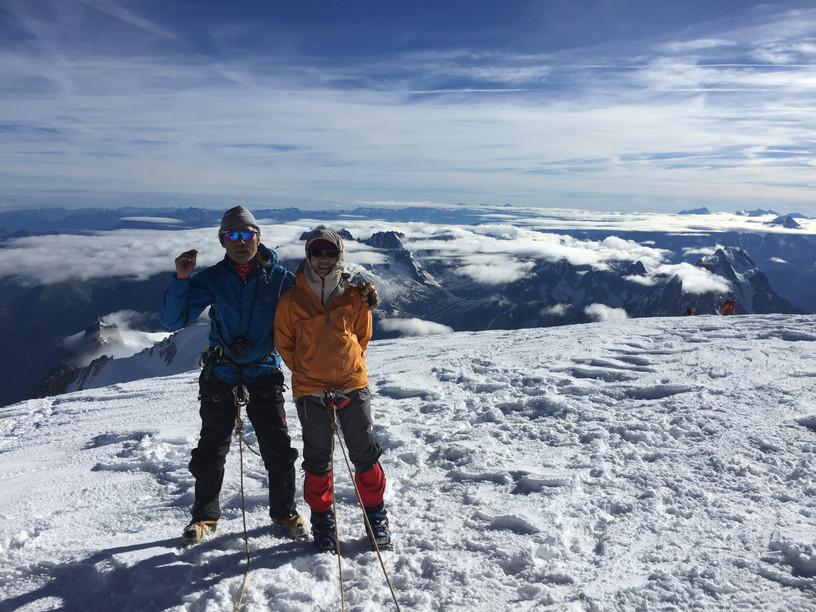 """2016年8月 『アルプスの女王、モンブラン』 August 2016 \""""Queen of the Alps, Mont Blanc\""""_c0219616_23122126.jpg"""