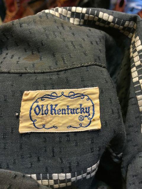 8月27日(土)入荷! 60s OLD KENTUCKY SHIRTS!!_c0144020_18313234.jpg