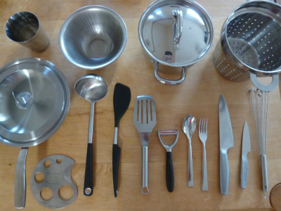 kitchen tool   ステンレス×ガラス_a0165160_06250728.jpg