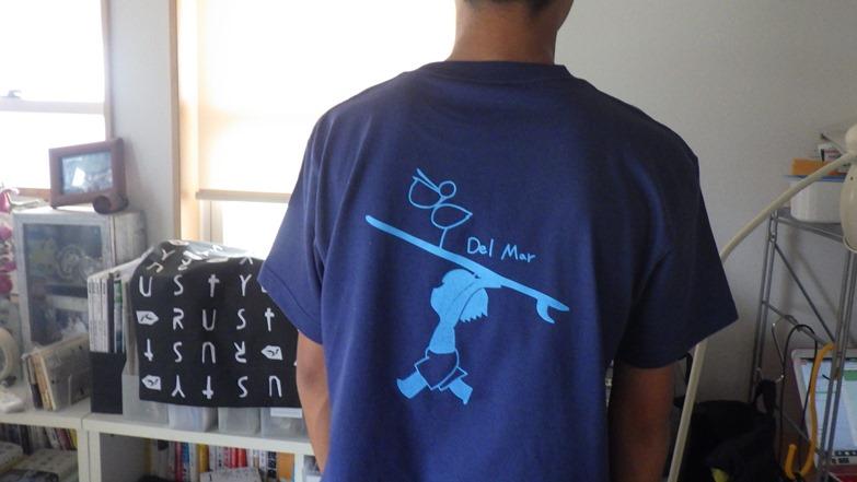 デルマーオリジナルTシャツ、完成しました。_f0009169_1650995.jpg