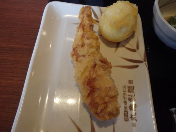 丸亀製麺      門真店_c0118393_8562331.jpg