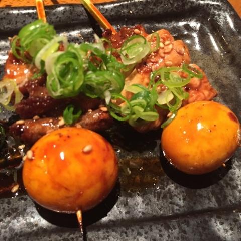神戸  umie REAL DINNING CAFE ・ やきとり  炭玄 (三宮) ・ ホテル モントレ神戸 ・ AX閉店_e0115904_02192096.jpg