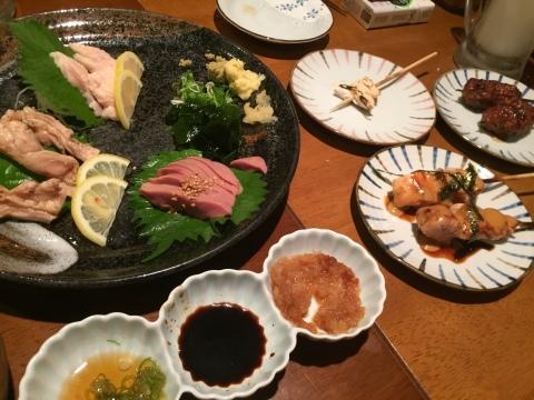 神戸  umie REAL DINNING CAFE ・ やきとり  炭玄 (三宮) ・ ホテル モントレ神戸 ・ AX閉店_e0115904_02364598.jpg
