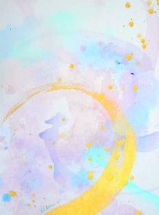 2016/11/2-7 伝統美と光のコラボ☆ワンネスアート 若生ひとみ展Ⅵ_e0091712_112356.jpg