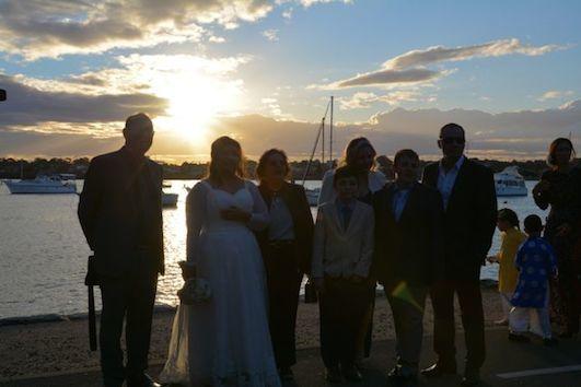 太陽に祝福された結婚式_f0155522_08102410.jpg