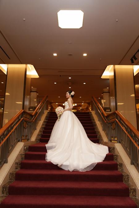新郎新婦様からのメール 帝国ホテルの花嫁様より 幸せの美しいさざ波のように_a0042928_1174875.jpg
