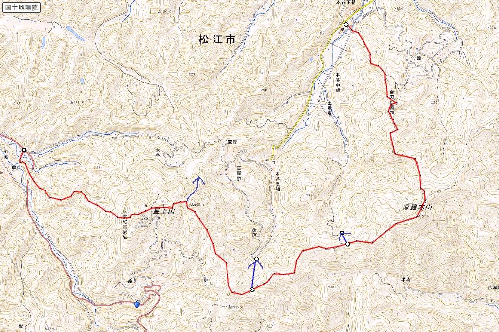 松江近郊ノトレランコース⑩_d0007657_106037.jpg