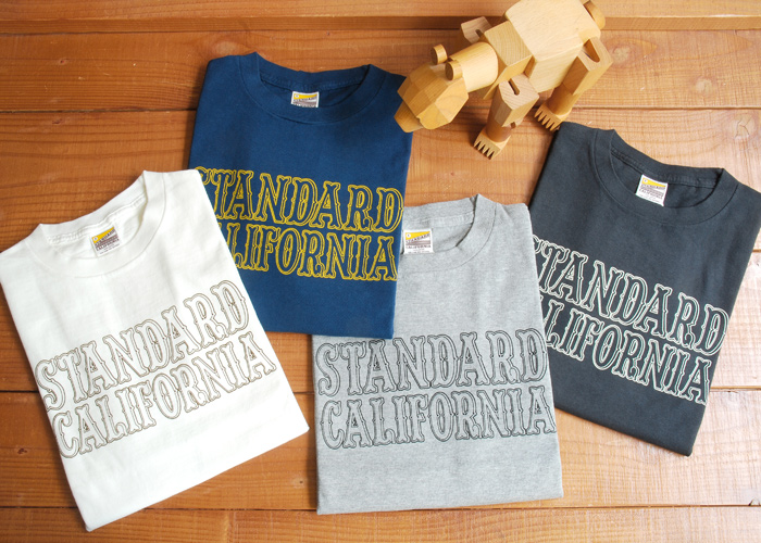 【DELIVERY】 STANDARD CALIFORNIA - Logo T-Shirt_a0076701_148022.jpg