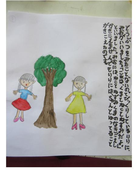 夏休み オープンデー ・小学生(上高野)_f0211514_15574527.jpg
