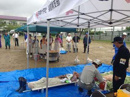 『 日和田地区防災訓練 』_f0259324_1094899.jpg