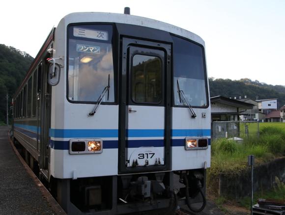 青春18切符 三江線 制覇の旅_d0202264_1712945.jpg