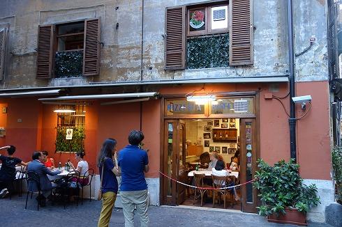 Pizzeria da Baffetto(ローマ)_a0152501_12102323.jpg