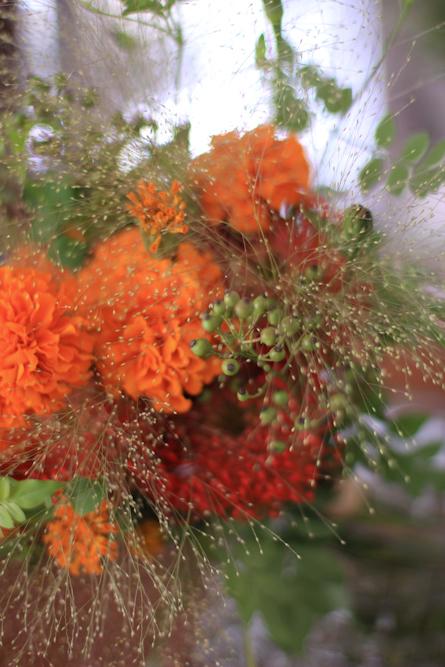 秋を感じる花飾り_b0208604_09121340.jpg
