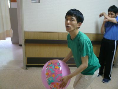 8/28 ボール遊び_a0154110_1442241.jpg
