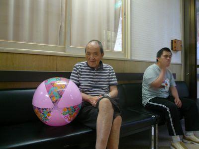 8/28 ボール遊び_a0154110_14435492.jpg