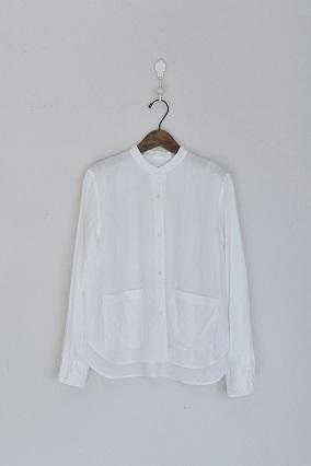 an662 ポケットノーカラーシャツ入荷しました_e0246710_1622505.jpg