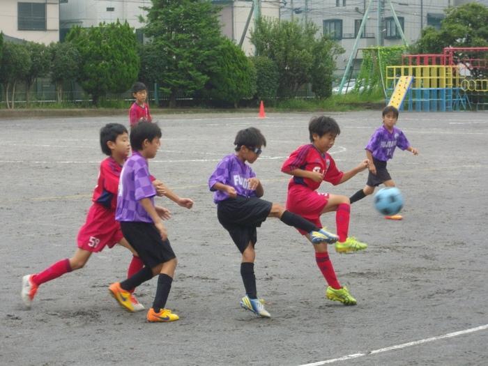 6年の練習試合とOcean\'s League_a0109316_11534064.jpg