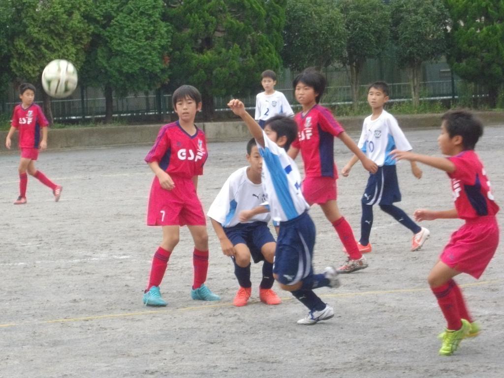 6年の練習試合とOcean\'s League_a0109316_1154316.jpg