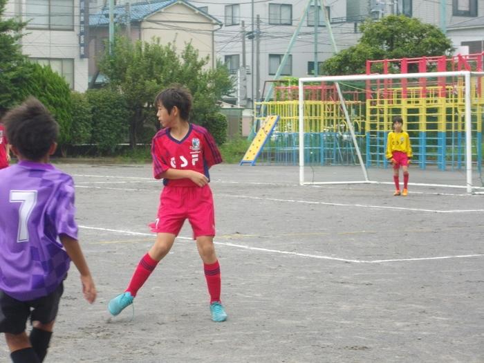 6年の練習試合とOcean\'s League_a0109316_1154744.jpg