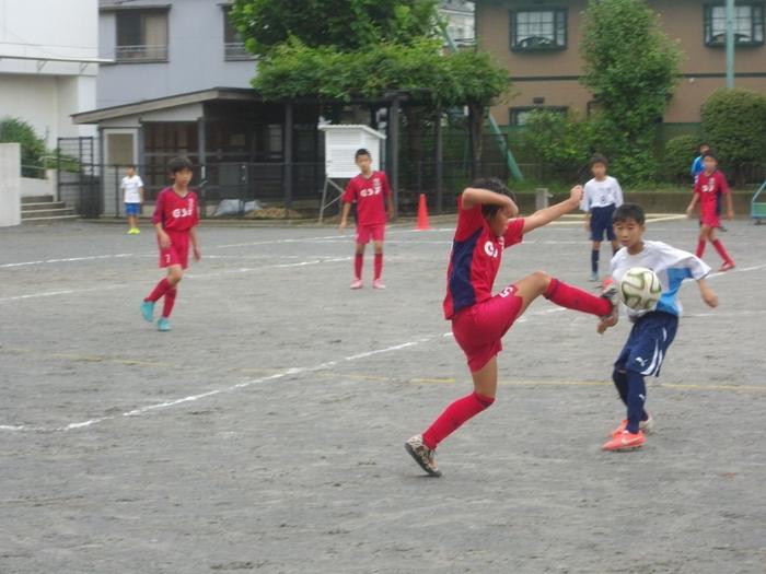 6年の練習試合とOcean\'s League_a0109316_1155141.jpg