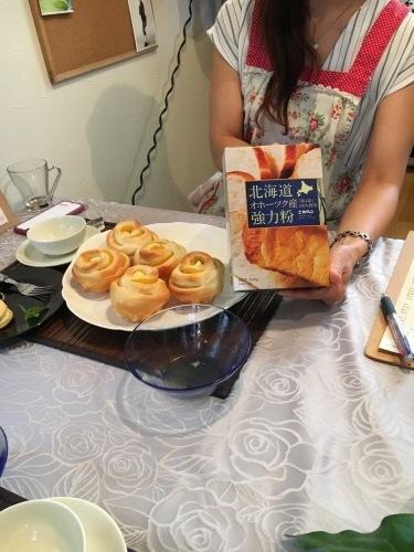 ホクレン主催 北海道産小麦粉を使ったレッスンです。_b0346442_01081092.jpeg
