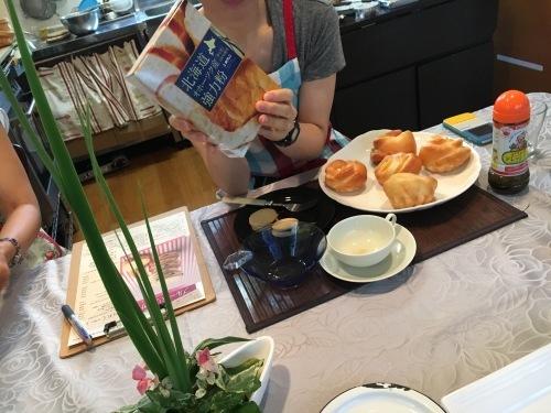 ホクレン主催 北海道産小麦粉を使ったレッスンです。_b0346442_01082613.jpeg