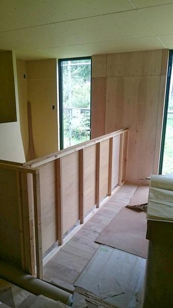 O邸 内部造作の模様_a0299347_1395481.jpg