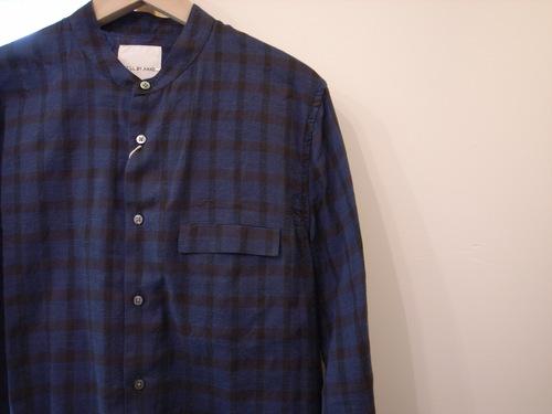 STILL BY HAND 綿/カシミア チェックシャツ_d0334060_1659439.jpg