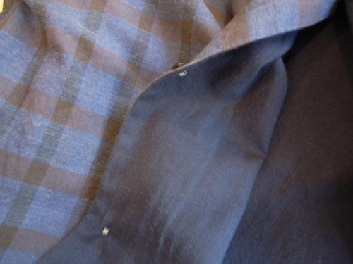 STILL BY HAND 綿/カシミア チェックシャツ_d0334060_1713768.jpg