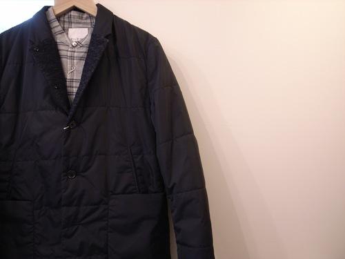 STILL BY HAND 綿/カシミア チェックシャツ_d0334060_1742629.jpg