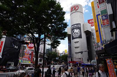 8月29日(月)今日の渋谷109前交差点_b0056983_13344908.jpg