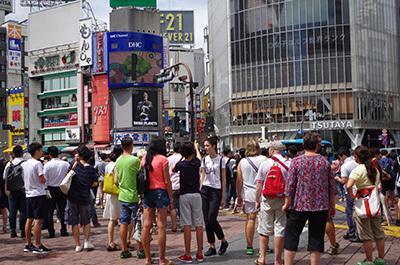 8月29日(月)今日の渋谷109前交差点_b0056983_13344980.jpg