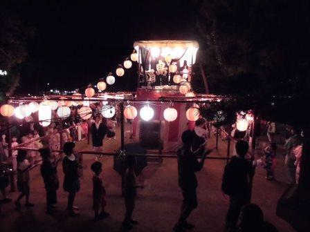 宮島踊りの夕べ_f0229523_1783785.jpg