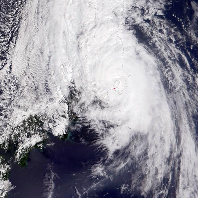2001年9月11日台風15号ダナス】 ...