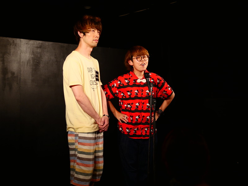 静岡お笑いライブ「阿」  8/28_d0079764_2318497.jpg
