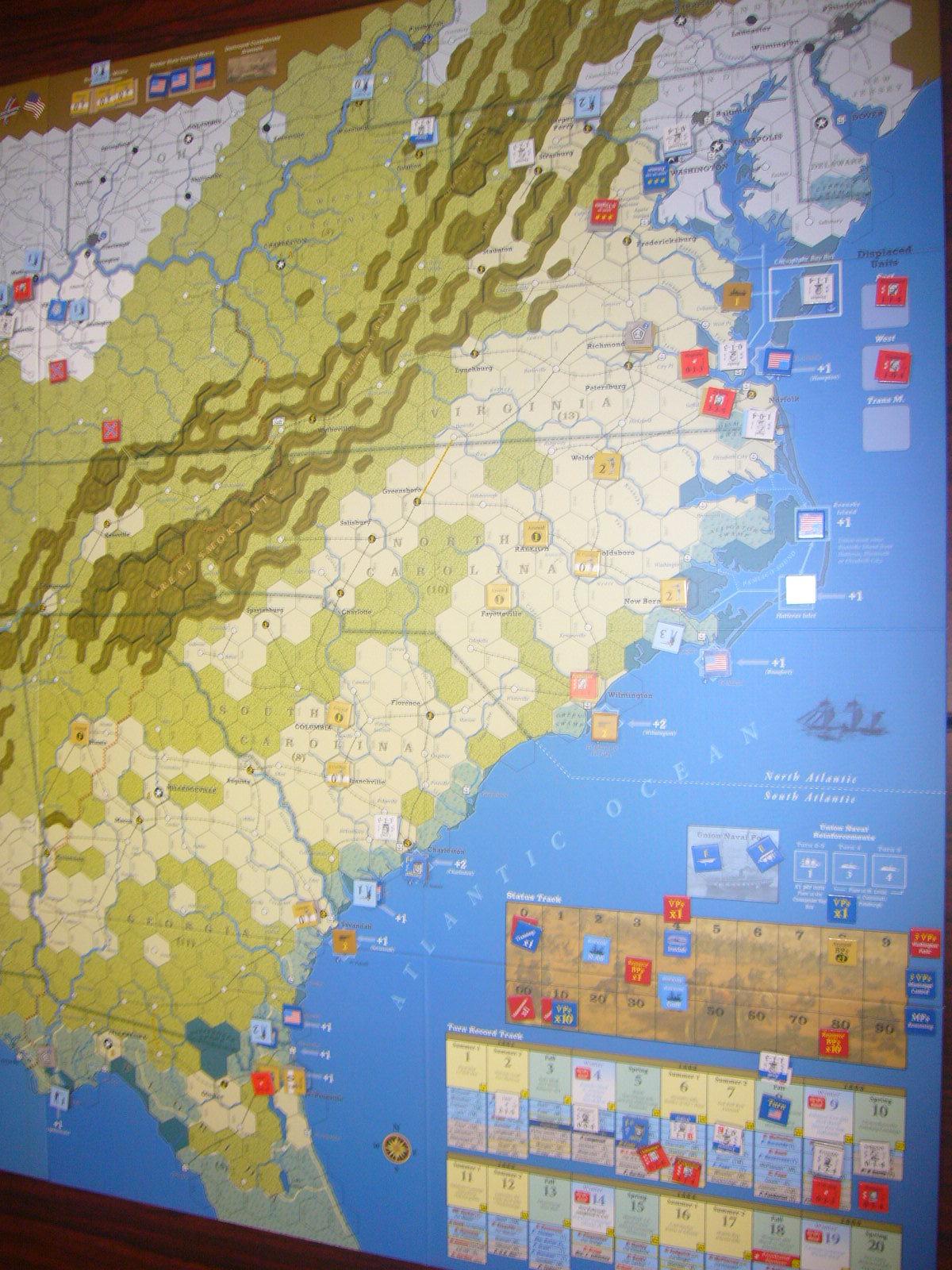 YSGA8月例会の様子その4〔(GMT)The U.S. Civil War 海軍ルール込み1862年シナリオ〕_b0173672_20020918.jpg