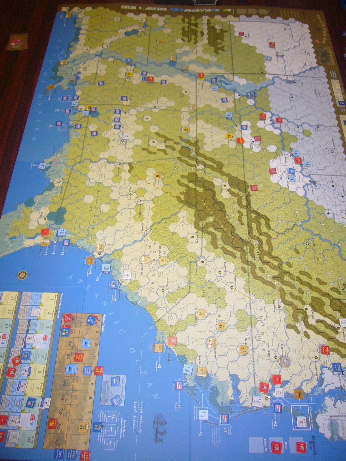 YSGA8月例会の様子その4〔(GMT)The U.S. Civil War 海軍ルール込み1862年シナリオ〕_b0173672_20020947.jpg