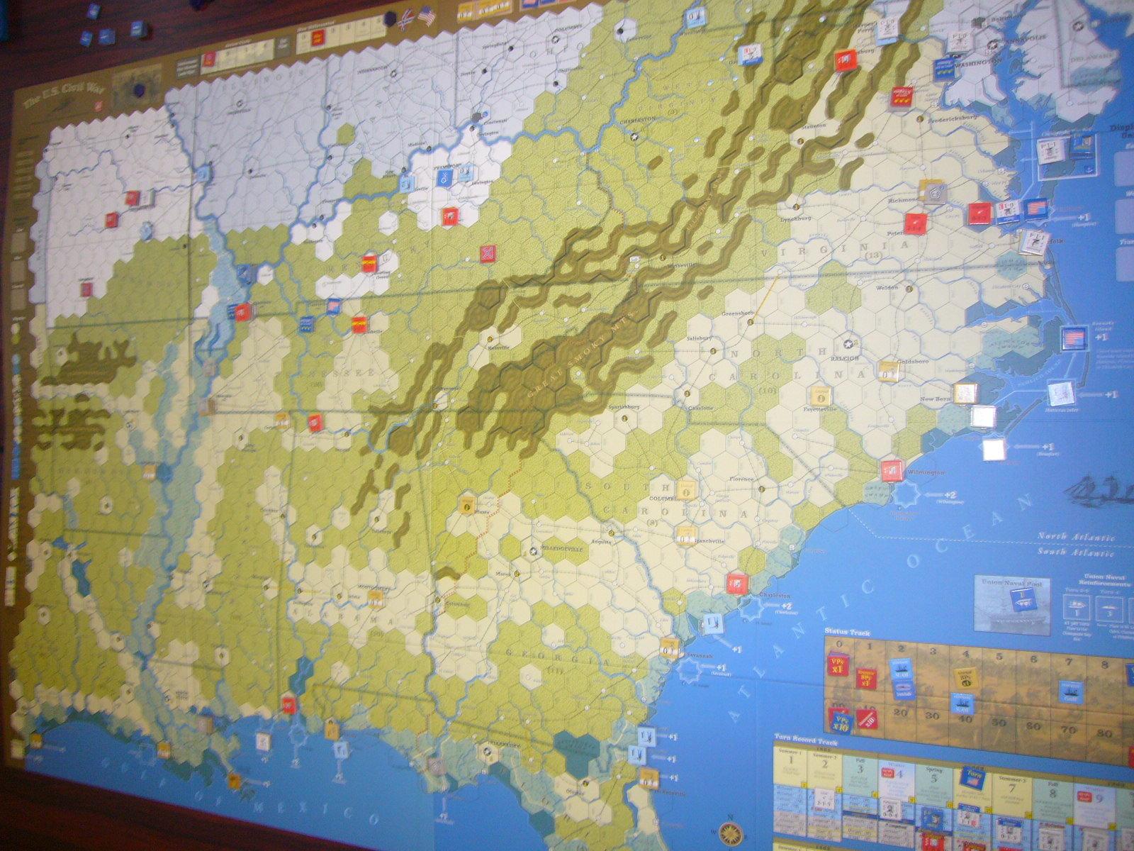 YSGA8月例会の様子その4〔(GMT)The U.S. Civil War 海軍ルール込み1862年シナリオ〕_b0173672_20020969.jpg